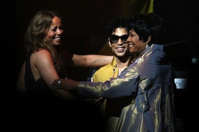 Mariah Carey, Prince, & Patti LaBelle.  Photo: Gettyimages.com
