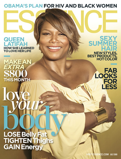 Queen Latifah Essence Magazine