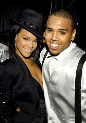 Rihanna & Chris Brown.  Photo: Courtesy USMagazine.com