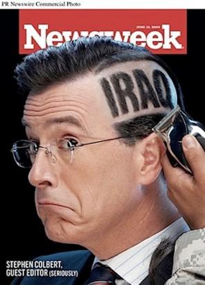 Stephen Colbert NewsWeek
