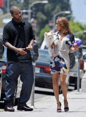 The Game and Stacy Dash wireimage