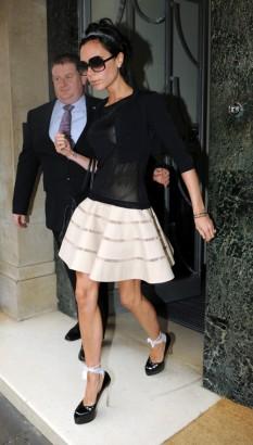 Victoria Beckham In London.  Photo: SplashNewsOnline.com