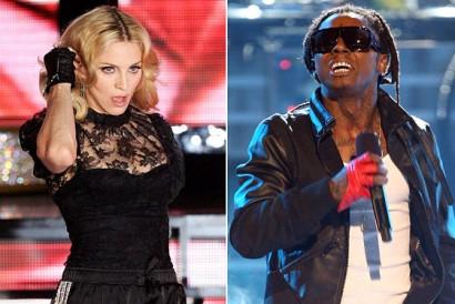 Lil Wayne/ Madonna File Photo