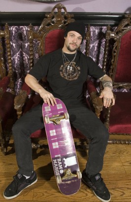 Bam Margera MTV Photo