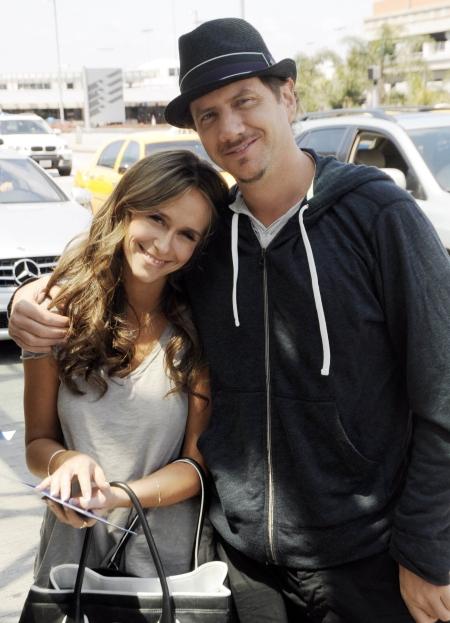 Jamie Kennedy & Jennifer Love Hewitt. File Photo