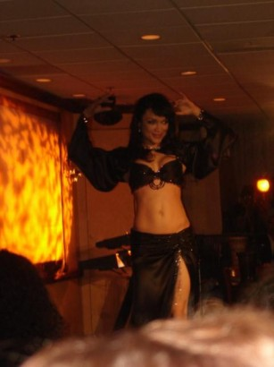 Mayte Performing  Feb. 2008. Photo Taken By Dr.Funkenberry