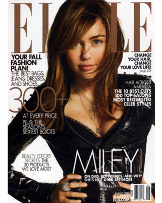 Miley Cyrus Elle Magazine Photo: Carter Smith