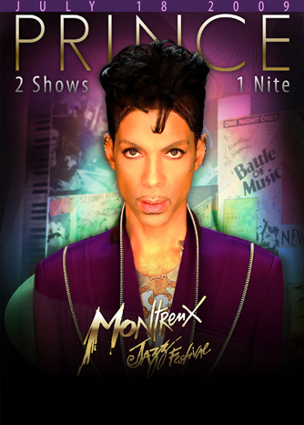 Montreux Promo Photo Of Prince.  Photo: MontreuxJazz.com