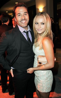 Jeremy Piven Gets A Peice of Hayden Panettiere At Entourage Afterparty.  Photo: Kevin Winter/GettyImages.com