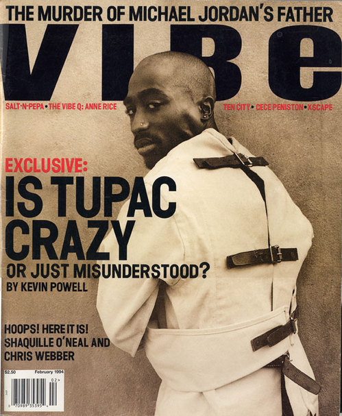 Vibe 1994 Tupac Issue Courtesy of Vibe Magazine