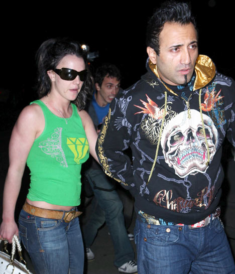 Britney and Adnan File Photo