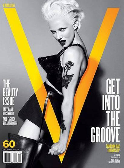 Cameron Diaz Courtesy of V Magazine