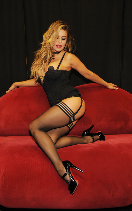 Carmen Electra Is Going To Give You A Show.  Photo: GettyImages.com
