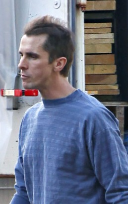 Christian Bale On Set Of New Movie.  Photo: Famepictures.com