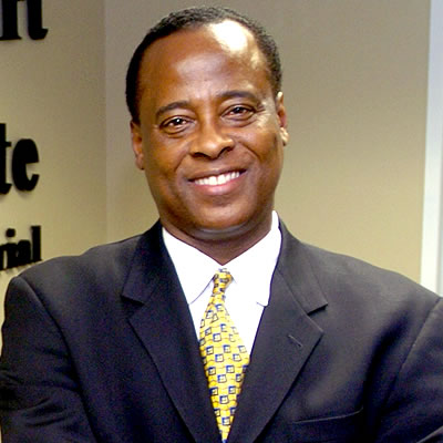 Dr. Conrad Murray File Photo