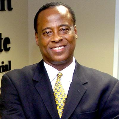 Dr. Conrad Murray File Photo