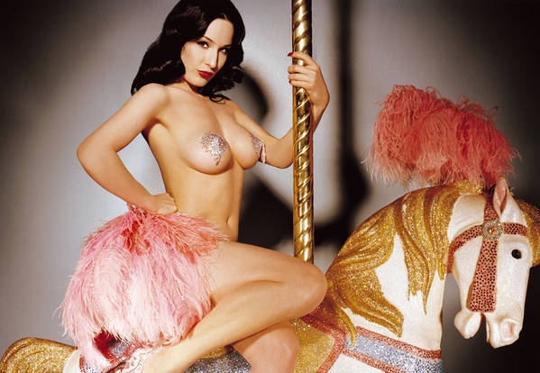 Dita Von Teese Set To Perform At The Avalon This Week.  File Photo