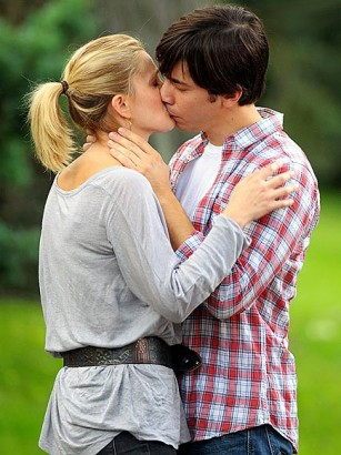 Drew Barrymore and Justin Long Pacific Coast News