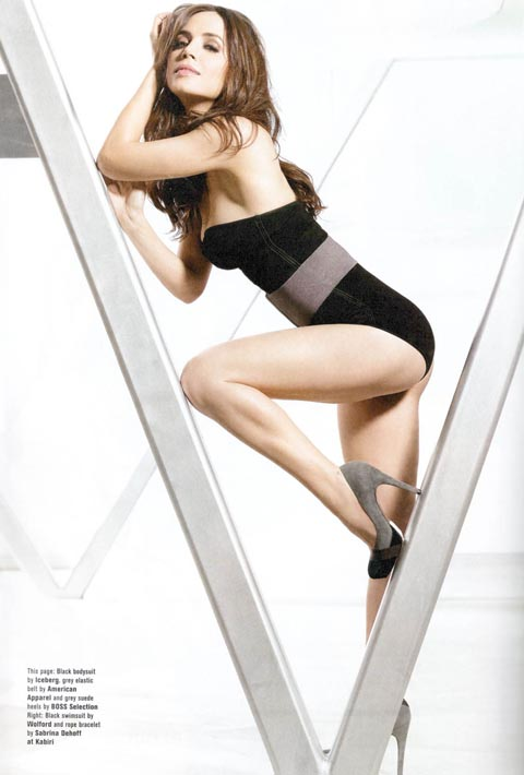Eliza Dushku Gets Hot For FHM.