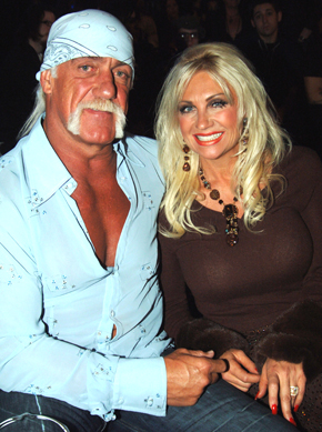 Hulk Hogan & Linda Hogan Back In '05. Photo: FilmMagic.com