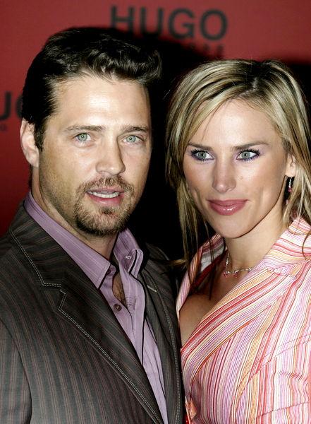 Jason Priestley & Beautiful Wife Naomi.  File Photo