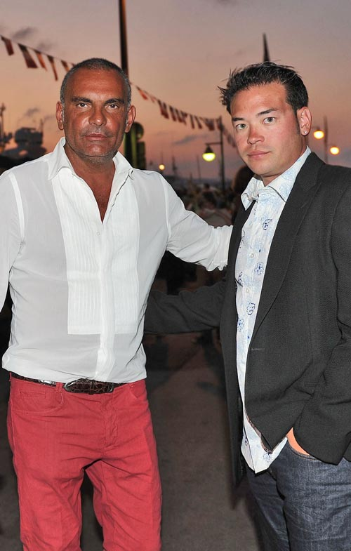 Christian Audigier & Jon Gosselin. Photo: BauerGriffen.com
