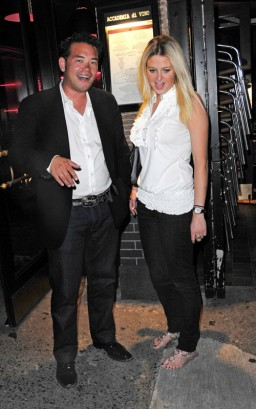 Jon Gosselin & Kate Major In The Hamptons.  Photo: SplashNewsOnline.com