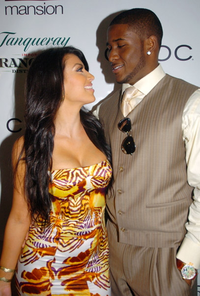 Kim Kardashian Reggie Bush Splash News