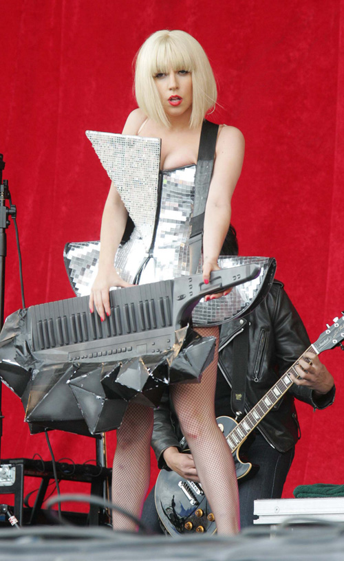 Lady Gaga Performs In Ireland.  Photo: SplashNewsOnline.com