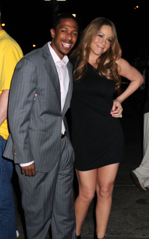 Mariah Carey And Nick Cannon. SplashNewsOnline.com