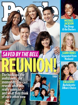 Saved By The Bell Reunion? Photo: People.com