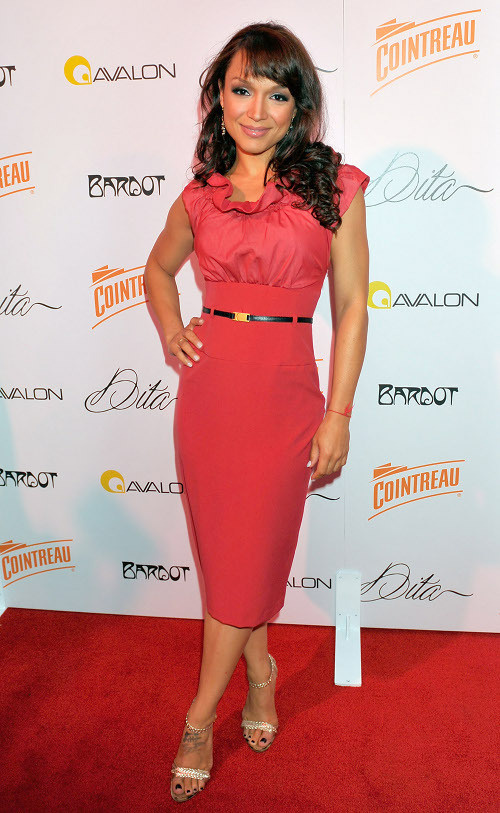 Mayte Garcia At Dita Event.  Photo: WireImage.com