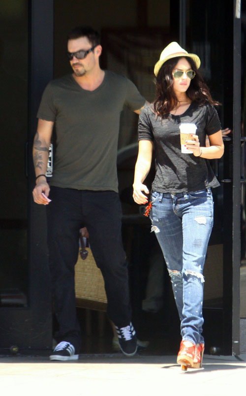 Megan Fox & Brian Austin Green Together July 1st.  Photo: LimelightPics.com