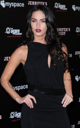 Megan Fox At My Space/IGN Jennifer's Body Party In San Diego.  Photo: GettyImages.com