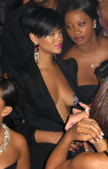 Rihanna At Tao In Las Vegas.  Photo: Flynetonline.com