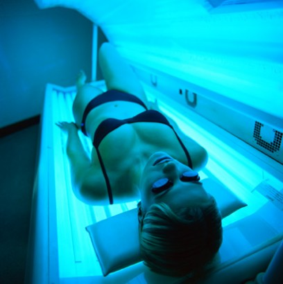 Tanning Bed File Photo