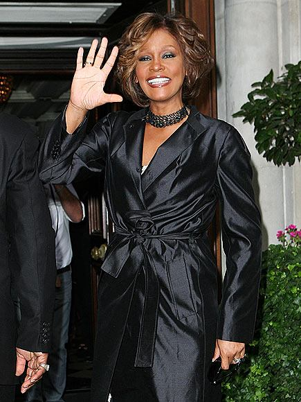 Whitney Houston Attends NY Listening Party.  Photo: Gettyimages.com