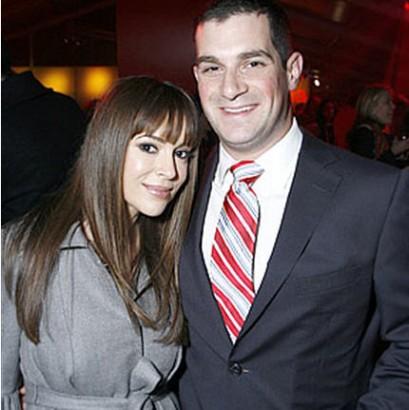 Alyssa Milano & David Bugliari. File Photo