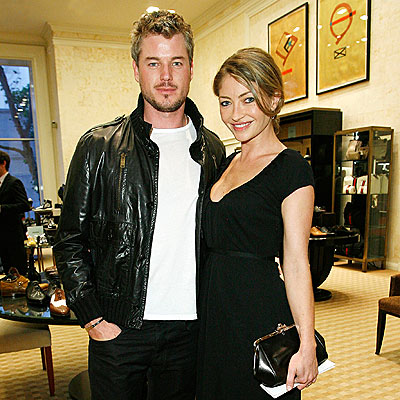 Eric Dane &amp; Rebecca Gayheart. Photo: Yahoo.com