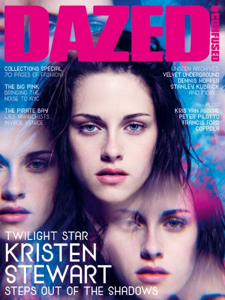 Kristen Stewart On Dazed & Confused Cover