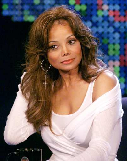 Latoya Jackson On Larry King Live 07/09. Photo: Associated Press
