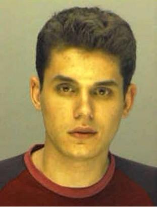 John Mayer's Mug Shot From 2001