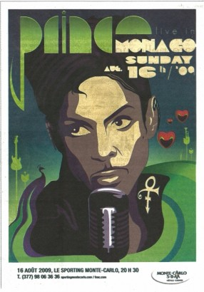 Monaco Prince Poster.