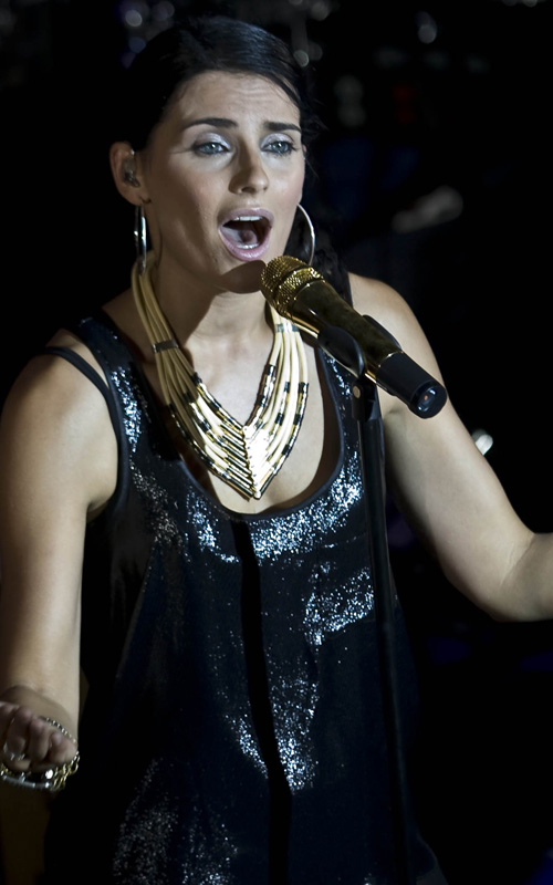 Nelly Furtado At Mexico City's Hard Rock Live.  Photo: Getty Images