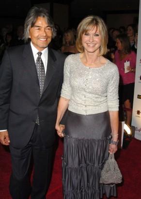 Olivia Newton John and Husband Patrick McDermott. Photo: WireImage.com
