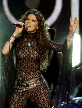 Shania Twain. File Photo
