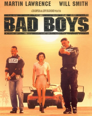 Bad Boys Movie Poster. Photo: Columbia Pictures