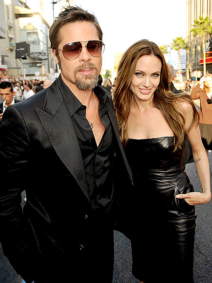 Pitt and Jolie Kevin Winter/Getty