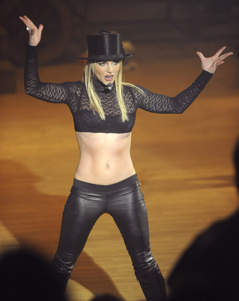 Britney Spears On Circus Tour. File Photo