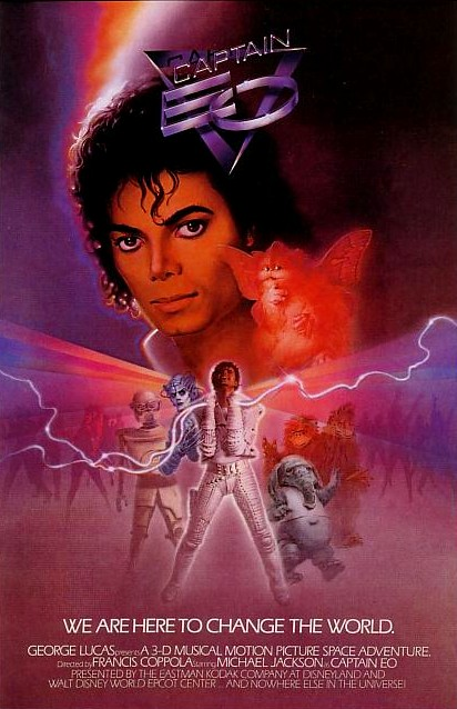Captain EO Poster. Copyright: Disney